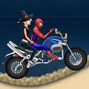 Spiderman Halloween Racing